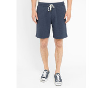 Marineblaue Jersey-Shorts Pr