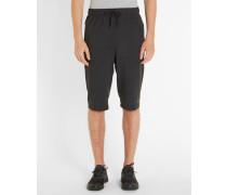 Schwarze Shorts Dri-Fit Fleece