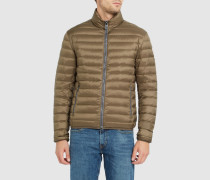 Khakibraune Daunenjacke Light 1279