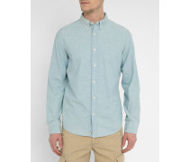 Chambray-Hemd Button Down