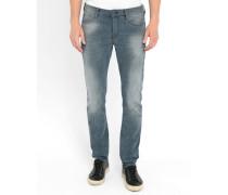Grau-blaue Slim Jeans Ralston