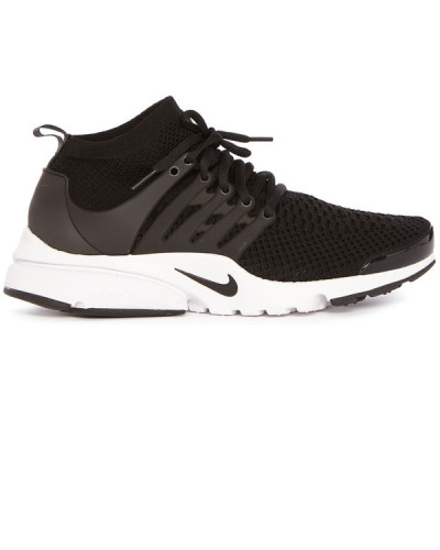 nike herren black air presto ultra flyknit sneakers. Black Bedroom Furniture Sets. Home Design Ideas