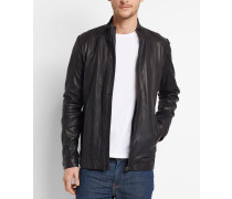 7131 Leather JacketAnd Two Pockets