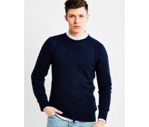 Co Dag Fine Wool Jumper Blue