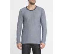 Marineblaues T-Shirt ML Basic Mike