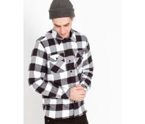 Sacramento Plaid Check Shirt Black