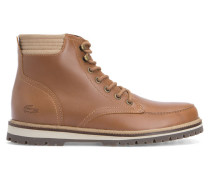 Boots Montbard aus Camel-Leder