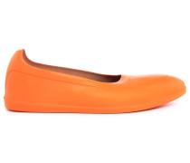Orange Überschuhe