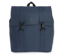 Wasserabweisender Rucksack Blau Msn Bag