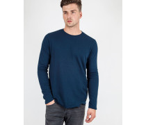 Terry Long Sleeved T-Shirt Navy