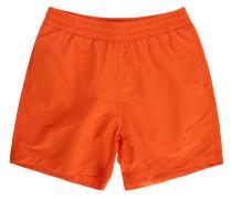 Orange Badeshort Drift