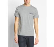 Gingham Trim Polka Dot T-Shirt M8205