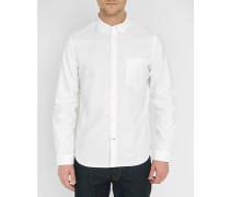 Weißes Oxfordhemd