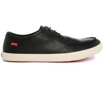 Niedrige Sneaker aus schwarzem Leder Pelotas Persils