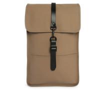 Wasserabweisender Rucksack Beige Backpack