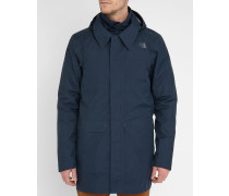 Marineblauer Parka 3-in-1 Triclimate