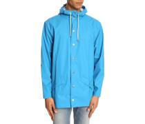 Himmelblauer Regenmantel Jacket