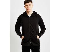 Milon Hooded Vest Sweatshirt Black