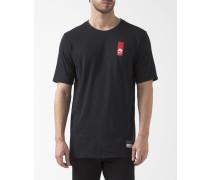 Air Brand Mark T-Shirt schwarz