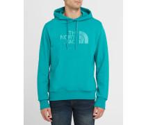 Blaues Kapuzen-Sweatshirt Pr