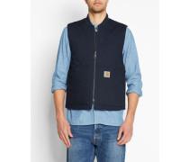 Ärmellose wasserabweisende Jacke Vest Dearborn in Marineblau
