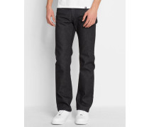 Jeans Slim Fit Stretch Rodney Corcoran in Washed-Schwarz