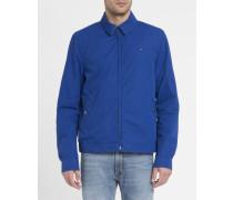 Königsblaue Ivy-Jacke aus Baumwolle