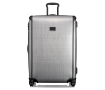 Hellgrauer Koffer mit 4 Rollen Tegra Light