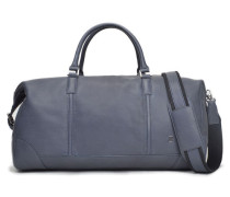 Vigo Leather Weekender Duffel - Fig