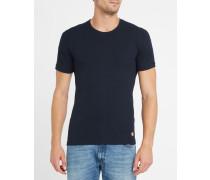 T-Shirt aus Baumwolle und Wolle in Ecru