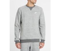 Grau meliertes Sweatshirt Legacy