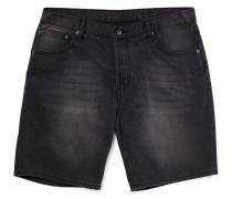 High Cut Shorts Black in Skinny Fit
