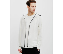 Original Vinyl Windcheater Jacket Opaque White