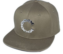 Strapback Crooks and Castles Thuxury Chain Verte