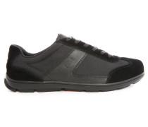 Niedrige schwarze Sneakers George Sport