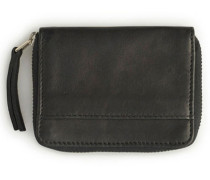 Card Zip Wallet Geldbeutel schwarz (BLACK LEATHER)