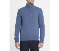 Blauer Pullover Camionneur aus Lambswool