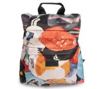 Backpack Nylon Print Cycliste