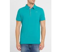 Grünes Poloshirt Pr