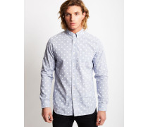 Standard Polka Dot Shirt Blue