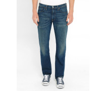 Jeans 504 Straight Bingham Bleu Stone Washed