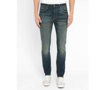 510-Skinny-Jeans mit ausgewaschenem Dunkelblau