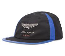 Schwarz-blaue verstellbare Mütze Aston Martin