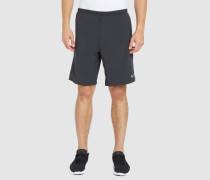 Schwarze Shorts 9' Poursuite 2-in-1