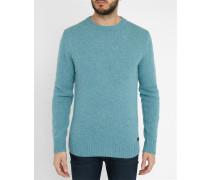 Himmelblauer Pullover Shetland