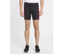 Schwarz-rote Shorts Heatgear SuperVent