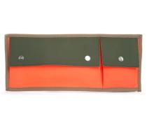 Wasserabweisender Rucksack Orange und Grün Cross Bag
