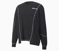 x ATTEMPT Deconstructed Rundhals-Sweatshirt