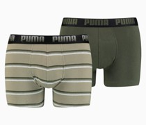 Gradient Stripe Boxershorts 2er Pack