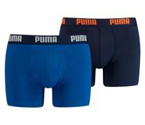Basic Boxershorts 2er Pack